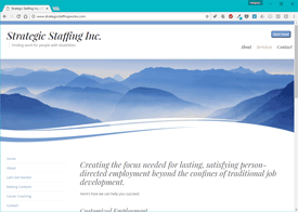 Strategic Staffing Website Design
