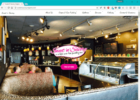 Sweet 'n' Savory Website Design